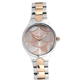 Titan Purple Whimsy Silver Dial Analog Watch For Women (95060km01)