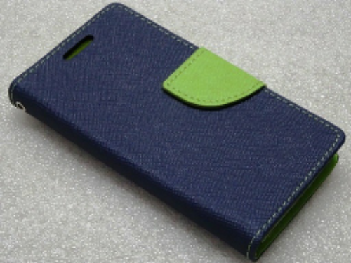 Kruz Deals Wallet Flip Cover For Redmi 3s Prime Blue Green