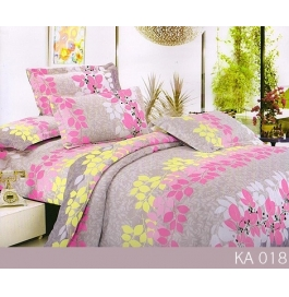 Double Bedsheet With 2 Pillow Covers Multi Color Floral Design