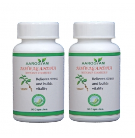 Ashwagandha  Capsule Pack Of 2
