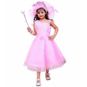 Pink Christmas Angel Gown