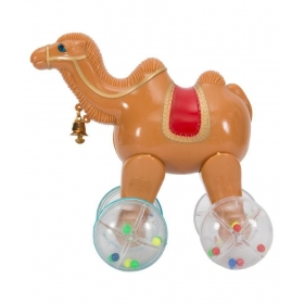 Pull Along Camel Toys Kids With Lighting In Wheels