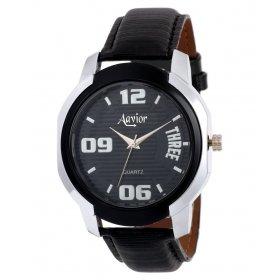 Aavior Men's Analog Black Dial Wrist Watch-aa-215