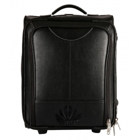 Abloom Black Solid Duffle Bag