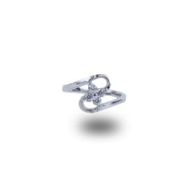 Forever Platinum Plated Ring