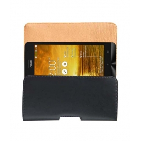 Belt Case For Asus Zenfone 5 A501cg Mobile Leather Carry Pouch Rich Cover Clip