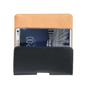 Belt Case For Samsung Galaxy S5 Mobile Leather Carry Pouch Cover Clip Holder New