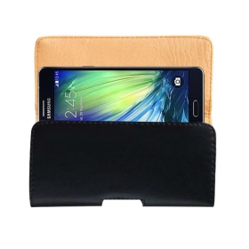 Case Leather Cover Pouch For Samsung Galaxy A7 Mobile Pouch Holder