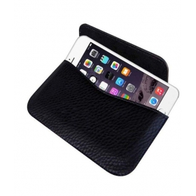 Horizontal Leather Carry Case For Apple Iphone 6 Mobile Pouch Rich Holder Cover
