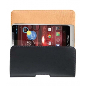 Belt Case Leather Cover Pouch For Motorola Droid Razr Maxx Hd Xt907 Mobile Pouch Holder