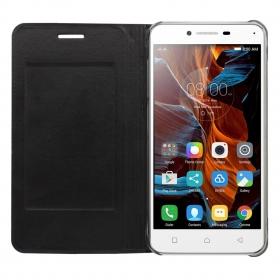 Acm Premium Flip Flap Case For Lenovo Vibe K5 Cover Black