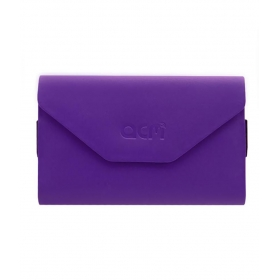 Horizontal Case For Intex Aqua Life Flip Flap Cover Purple