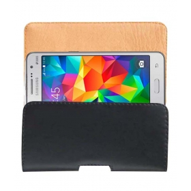 Belt Case Leather Cover Pouch For Samsung Galaxy Grand Prime Mobile Pouch Holder