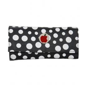 Apple Small White Spot Black Clutch