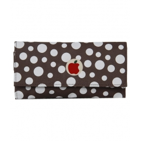 Apple Small White Spot Brown Clutch