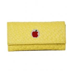 Apple Small Yellow Matte Clutch