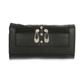 Black Pure Leather Handheld