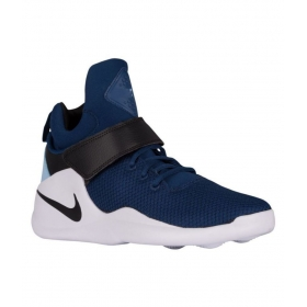 Ad Neo Nike Kwazi High Tops Blue Basketball Shoes