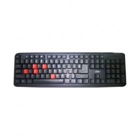 Ad Net Ad-514 Black Ps/2 Desktop Keyboard