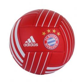 Adidas Fc Bayern Fbl White Football Size- 5