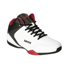Admiral Karl White Basketball Shoes