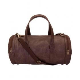 Aekyam Brown Duffle Bag