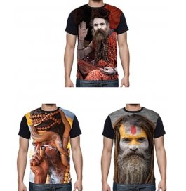 Exclusive Digital Printing Agori Hd T Shirt Combo Of 3