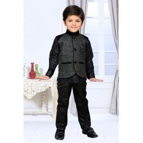 Black Indo Western Suit