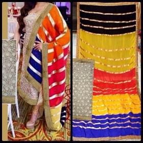 Replica Super Seller Georgette Semistitched Dress Material