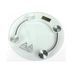 8mm Round Glass Step-on Activation Weighing Scale 2003a