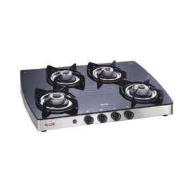 Alda Cta 148 Gtai 4 Burner Ai Ss Glass Cooktop
