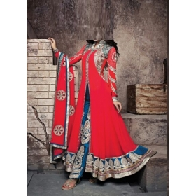 Replica Super Seller Georgette Semi Stitched Salwar Kameez