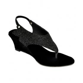 Black Wedges Heels