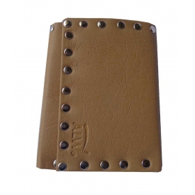 Brown Non Leather Wallet For Women