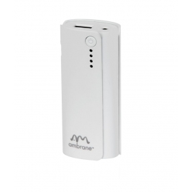 Ambrane P-444(4000mah) Power Bank- White - For Ios And Android Devices