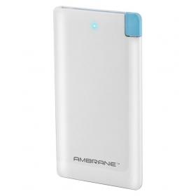 Ambrane Plush Pp-41 4000 -mah Li-polymer Power Bank White