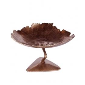 Copper Leaf Ash Tray