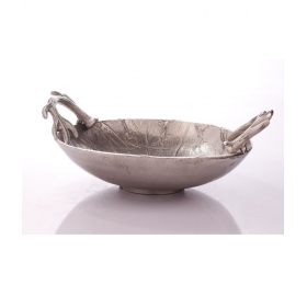 Silver Metal Fruits Tray