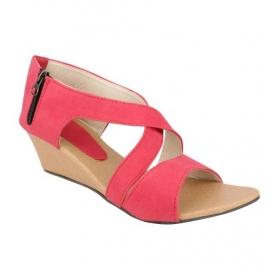 Sarva Womens Wedges Pink