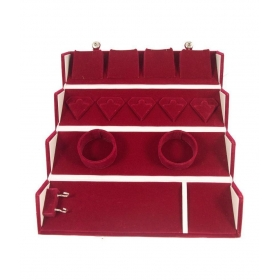 Red Valvet Jewellery Box