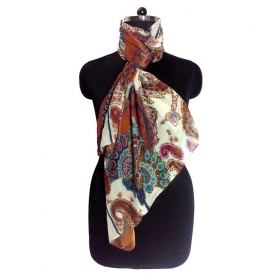 Fashions Multicolour Cotton Scarf