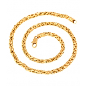 Jewellers Brass Gold Plated Chain