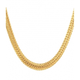 Brass Gold Plated Chain