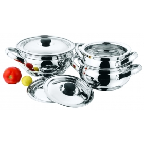 Golden Dove 9 Pcs Cook And Serve Handi