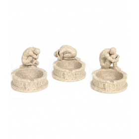 Arcitecture Ash Tray (set Of 3)