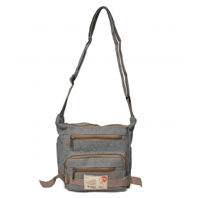 Gray Sling Bags
