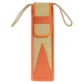 Ashvah Jute Orange Lunch Bag