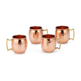 Nickle Short Mugs - Set Of 4