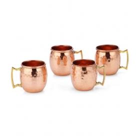 Nickle Short Mugs - Set Of 4