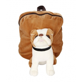 Dog Kids Shoulder Backpack (38 X 5 X 38 Cm)